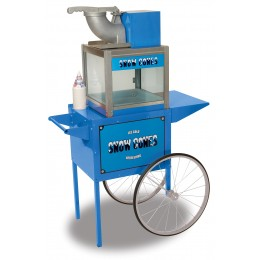 Benchmark Snowbank Snow Cone Machine w/ Cart