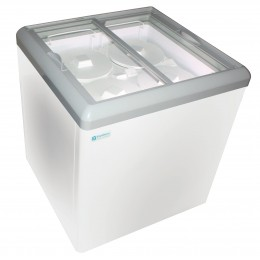 Excellence HB-6HCD Dual Temp Display Cabinet Freezer 6 cu ft
