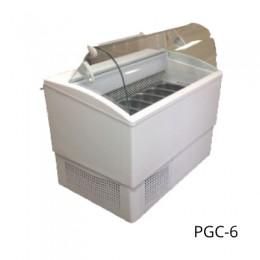 Excellence PGC-6 Deluxe Gelato Dipping Cabinet