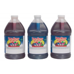 Gold Medal Deluxe Sno-Kone Syrup Gallons 4/CS Additional Flavors