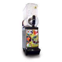 Gold Medal 1113 Single Bowl Frozen Drink Slush Machine Black with Clear Lids 120V