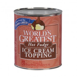 Gold Medal 5146 Worlds Greatest Hot Fudge Topping #10 Can 6/CS
