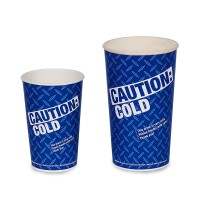 Gold Medal 5316 Caution 16oz Cold Cups 1000/CS