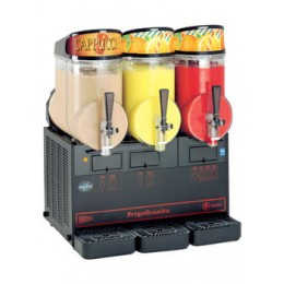 Cecilware MT3ULBL FrigoGranita 2 Bowl Beverage Dispenser Black