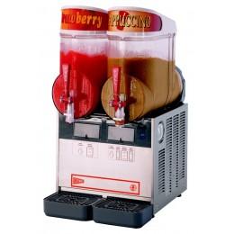 Cecilware NHT2UL Granita Frozen Dispenser 2 Bowl Stainless Steel