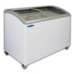 Norlake CTB43-9 Curved Lid Ice Cream Display Freezer 41