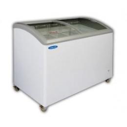 Norlake CTB71-17 Curved Lid Ice Cream Display Freezer 66-1/2
