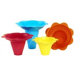 Paragon 6502 Flower Drip Tray Cups Multicolor 4oz 100/CS