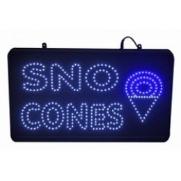 Paragon Sno-Cone TechNeon Lighted Sign