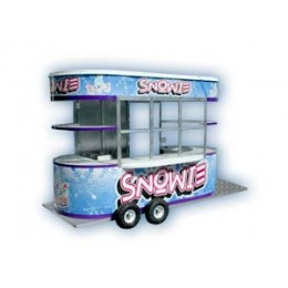 Snowie Shaved Ice 12 Foot Building