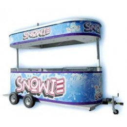 Snowie Shaved Ice 12 Foot Kiosk