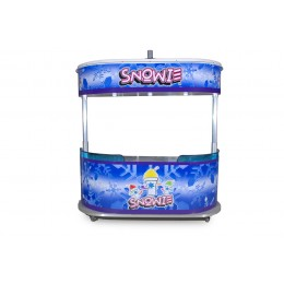 Snowie Shaved Ice 8 Foot Cart