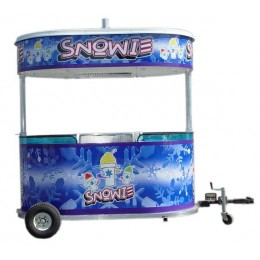 Snowie Shaved Ice 8 Foot Kiosk