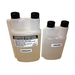 Snowie Preservative and Citric Acid Gallon Refill Kit