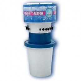 Snowie 6 Flavor Station Small 2.5 Gallon Jugs
