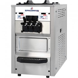 Spaceman 6235H Soft Serve Counter Machine 2 Hoppers