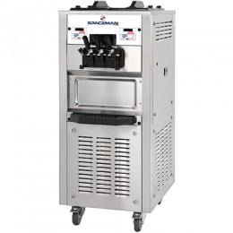 Spaceman 6250H Soft Serve Floor Machine 2 Hoppers